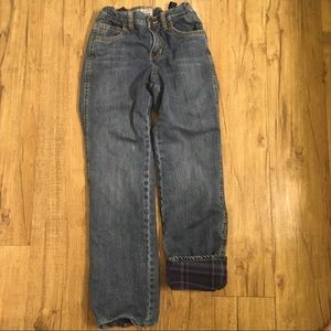Boy's Old Navy Fleece Lined Jeans